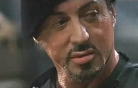 Sylvester Stallone breaks neck during fight scene